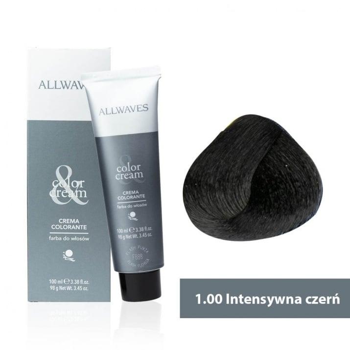 Боя за коса Allwaves Color Cream 100мл + 150мл оксидант