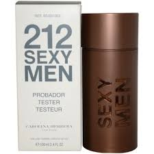 212 Sexy Man Carolina Herrera 100 мл Тестер