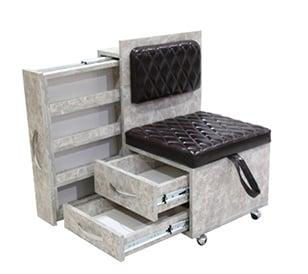 Работен стол за педикюр 7506