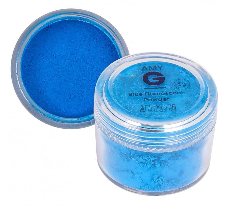 Amy G флуоресцентна пудра 5гр Цвят: Blue