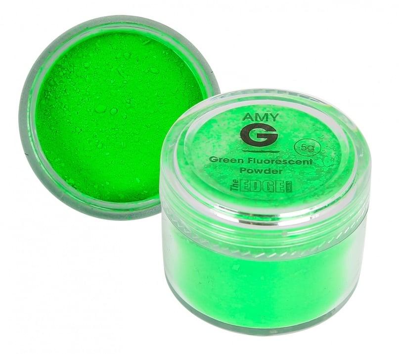 Amy G флуоресцентна пудра 5гр Цвят: Green