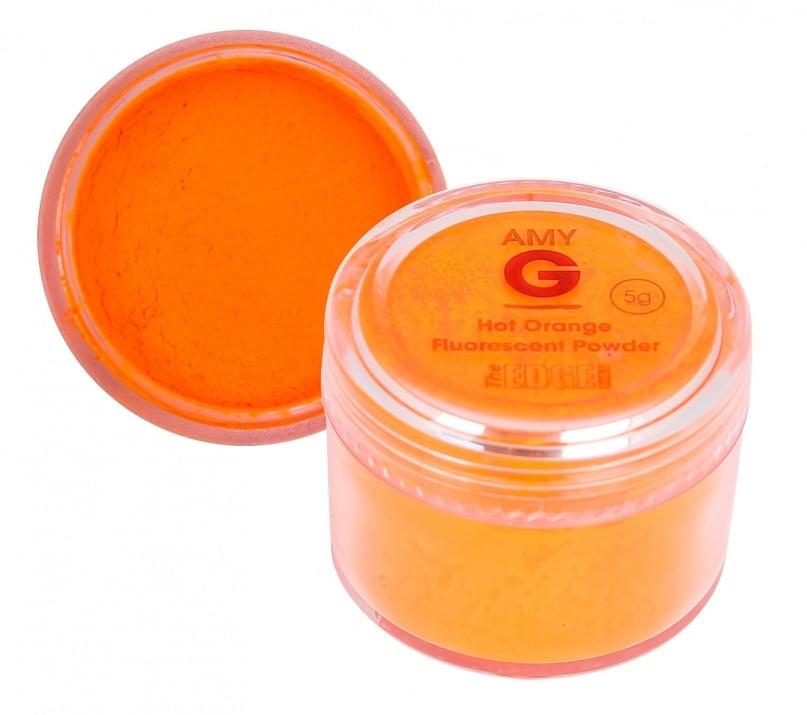 Amy G флуоресцентна пудра 5гр Цвят: Hot Orange