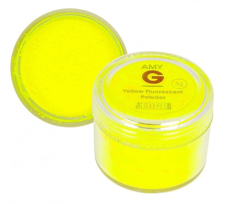 Amy G флуоресцентна пудра 5гр Цвят: Yellow