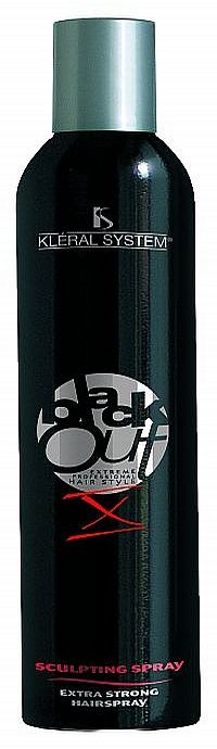 BLACK OUT - SCLUPTING SPRAY 10