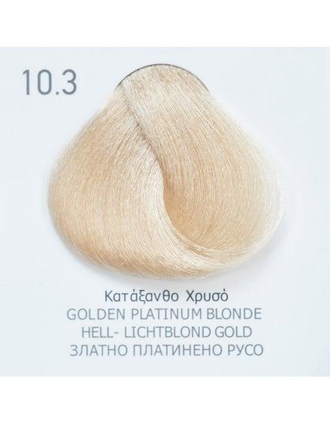 Боя за коса Fadiam 100мл. + Оксидант FADIAM: 10.3 Златно платинено русо