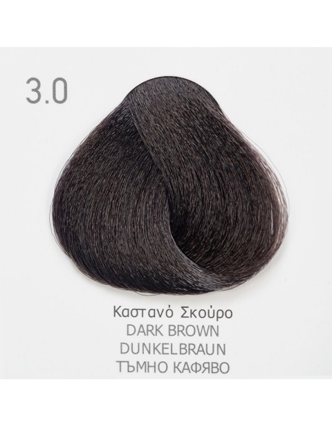 Боя за коса Fadiam 100мл. + Оксидант FADIAM: 3.0 Тъмнокафяво