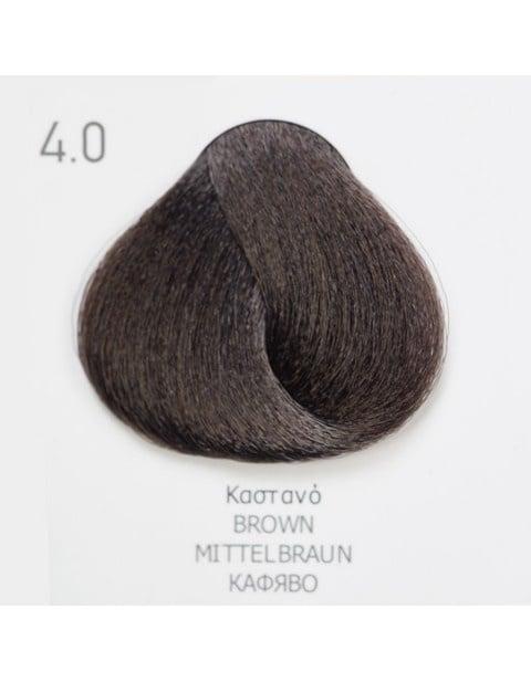 Боя за коса Fadiam 100мл. + Оксидант FADIAM: 4.0 Кафяво