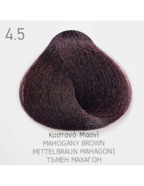 Боя за коса Fadiam 100мл. + Оксидант FADIAM: 4.5 Тъмен махагон