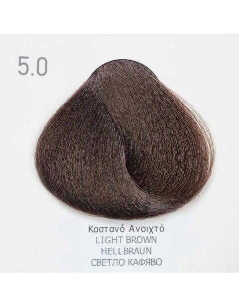 Боя за коса Fadiam 100мл. + Оксидант FADIAM: 5.0 Светлокафяво