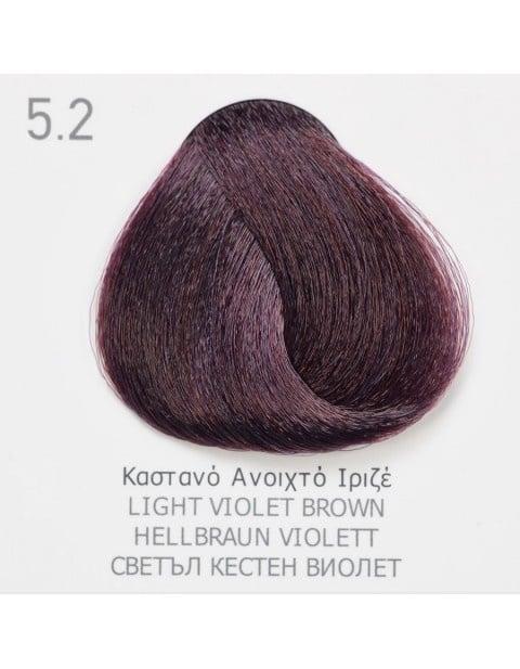 Боя за коса Fadiam 100мл. + Оксидант FADIAM: 5.2 Светъл кестен виолет