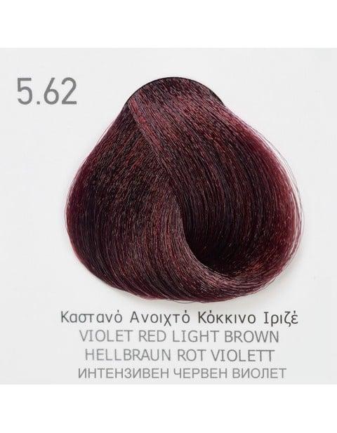 Боя за коса Fadiam 100мл. + Оксидант FADIAM: 5.62 Интензивен червен виолет
