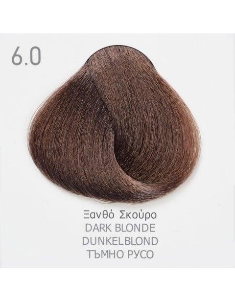 Боя за коса Fadiam 100мл. + Оксидант FADIAM: 6.0 Тъмнорусо