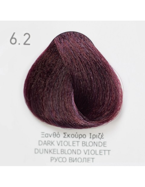 Боя за коса Fadiam 100мл. + Оксидант FADIAM: 6.2 Русо виолет