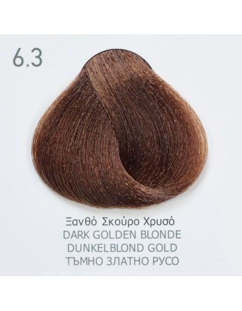 Боя за коса Fadiam 100мл. + Оксидант FADIAM: 6.3 Тъмно златно русо