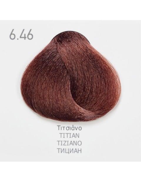 Боя за коса Fadiam 100мл. + Оксидант FADIAM: 6.46 Тициан