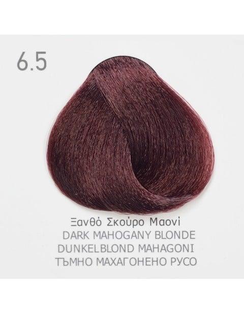 Боя за коса Fadiam 100мл. + Оксидант FADIAM: 6.5 Тъмно махагонено русо