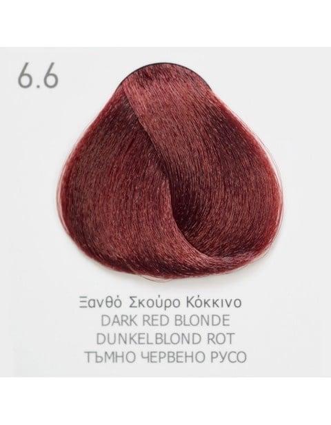 Боя за коса Fadiam 100мл. + Оксидант FADIAM: 6.6 Тъмно червено русо