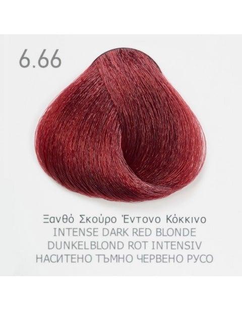 Боя за коса Fadiam 100мл. + Оксидант FADIAM: 6.66 Наситено тъмно червено русо