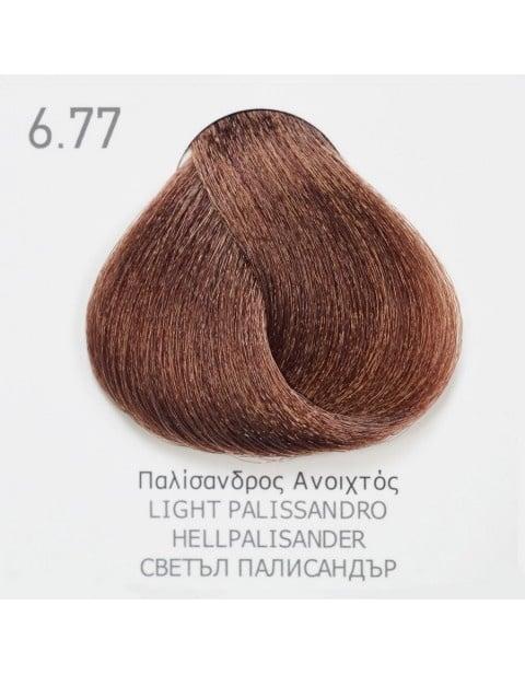 Боя за коса Fadiam 100мл. + Оксидант FADIAM: 6.77 Светъл палисандър