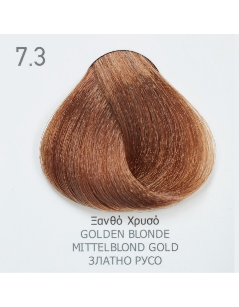 Боя за коса Fadiam 100мл. + Оксидант FADIAM: 7.3 Златно русо