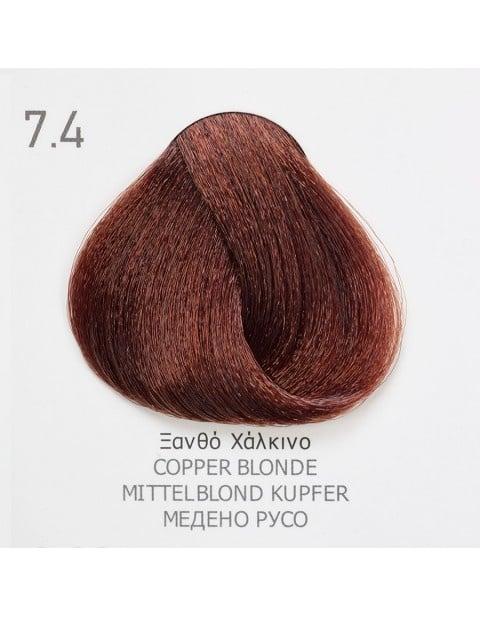 Боя за коса Fadiam 100мл. + Оксидант FADIAM: 7.4 Медено русо