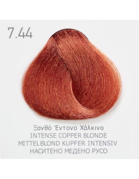 Боя за коса Fadiam 100мл. + Оксидант FADIAM: 7.44 Наситено медено русо