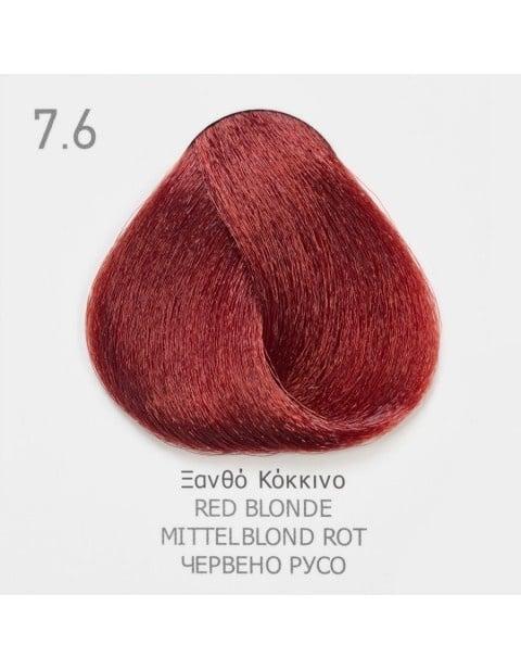 Боя за коса Fadiam 100мл. + Оксидант FADIAM: 7.6 Червено русо