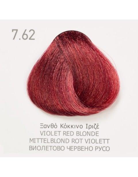 Боя за коса Fadiam 100мл. + Оксидант FADIAM: 7.62 Виолетово червено русо