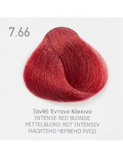 Боя за коса Fadiam 100мл. + Оксидант FADIAM: 7.66 Наситено червено русо