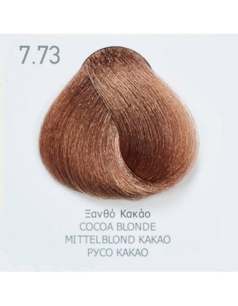 Боя за коса Fadiam 100мл. + Оксидант FADIAM: 7.73 Русо какао