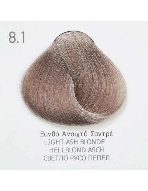 Боя за коса Fadiam 100мл. + Оксидант FADIAM: 8.1 Светлорусо пепел
