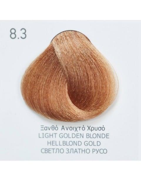 Боя за коса Fadiam 100мл. + Оксидант FADIAM: 8.3 Светло златно русо