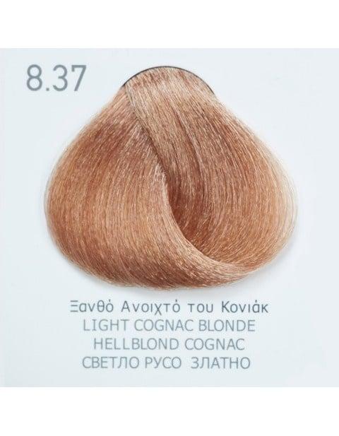 Боя за коса Fadiam 100мл. + Оксидант FADIAM: 8.37 Светлорусо златно