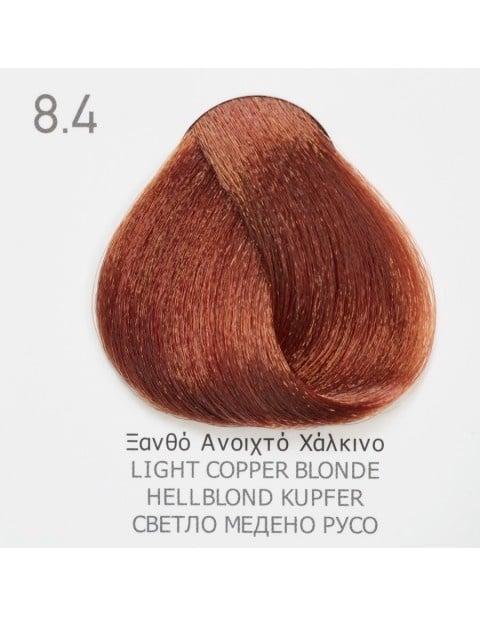 Боя за коса Fadiam 100мл. + Оксидант FADIAM: 8.4 Светло медено русо