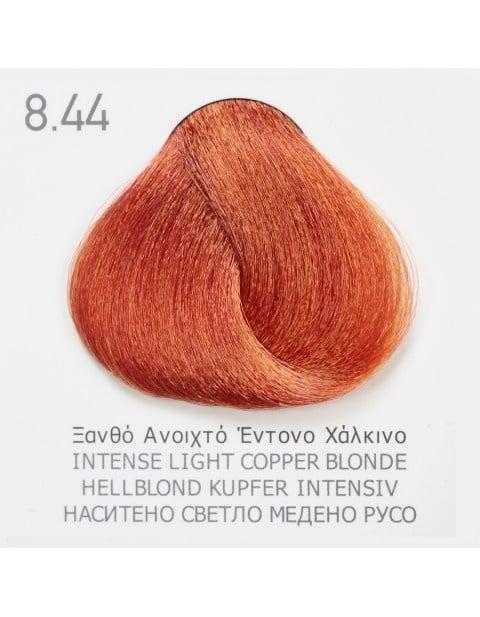 Боя за коса Fadiam 100мл. + Оксидант FADIAM: 8.44 Наситено светло медено русо