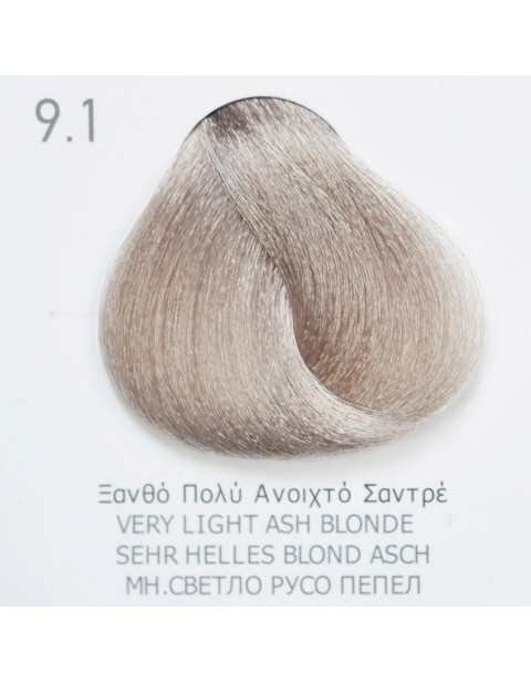 Боя за коса Fadiam 100мл. + Оксидант FADIAM: 9.1 Много светлорусо пепел
