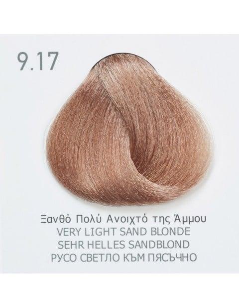 Боя за коса Fadiam 100мл. + Оксидант FADIAM: 9.17 Русо светло към пясъчно
