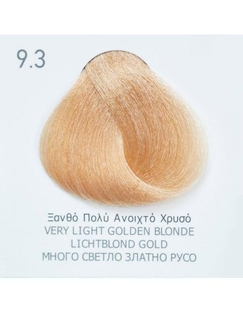 Боя за коса Fadiam 100мл. + Оксидант FADIAM: 9.3 Много светло златно русо