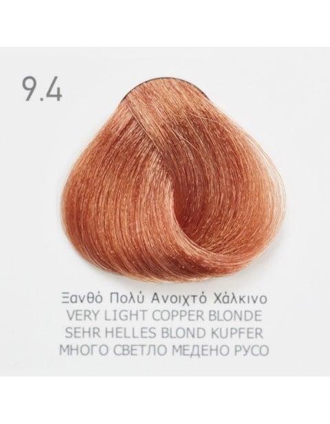 Боя за коса Fadiam 100мл. + Оксидант FADIAM: 9.4 Много светло медено русо
