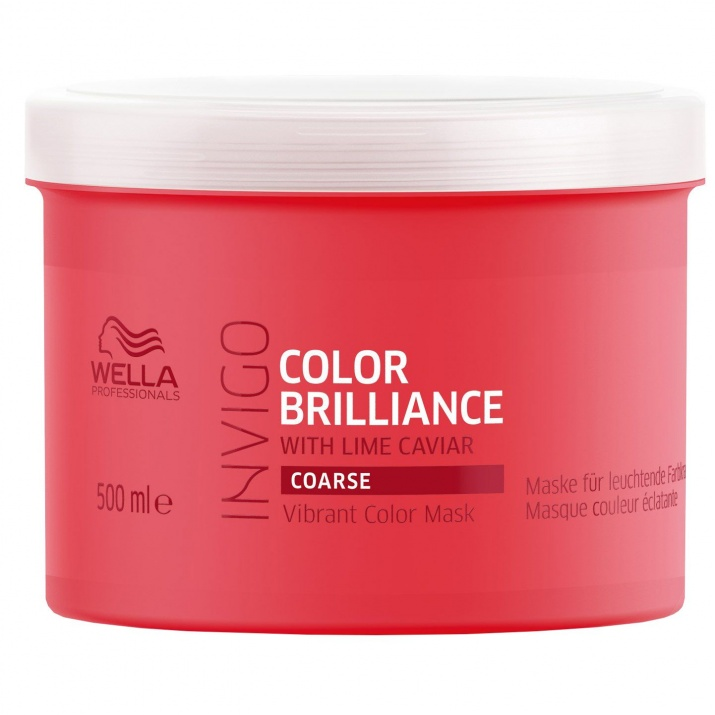 Brilliance - Mаска за боядисана гъста коса - 150мл/500мл. Разфасовка: 500