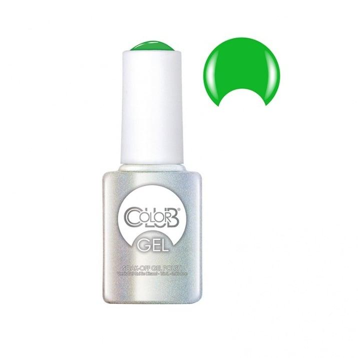 Color Club So Lit - Неонови UV/LED гел-лакове 15мл. Color Club: 45 - Trees Please