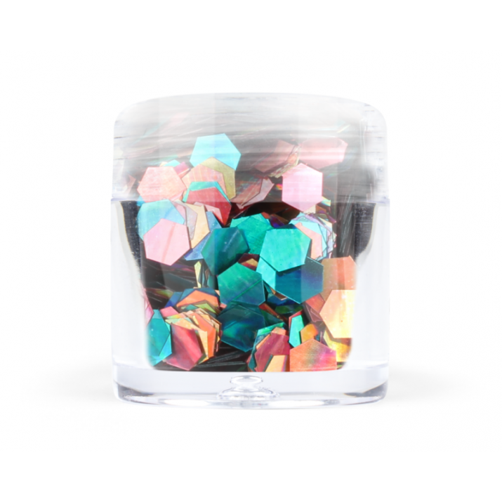 Confetti Hexagon - Конфети хексагон - 7 цвята №: 4