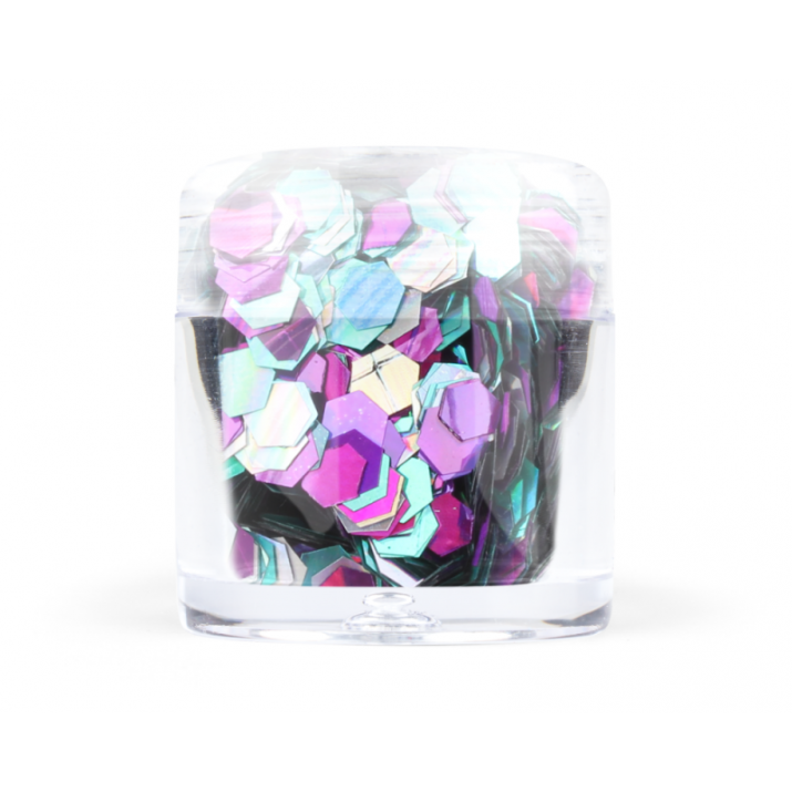 Confetti Hexagon - Конфети хексагон - 7 цвята №: 7