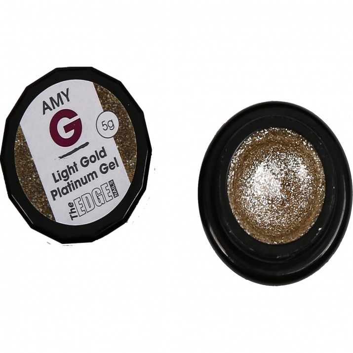 Edge platinum gels 5gr Цвят: light gold