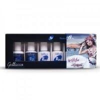 Ef exclusive Гел лак комплект за маникюр-Alloha hawai 6бр