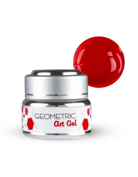 EF Geometric art gel  - Геометричен дизайн гел 5мл. Цвят: Червен