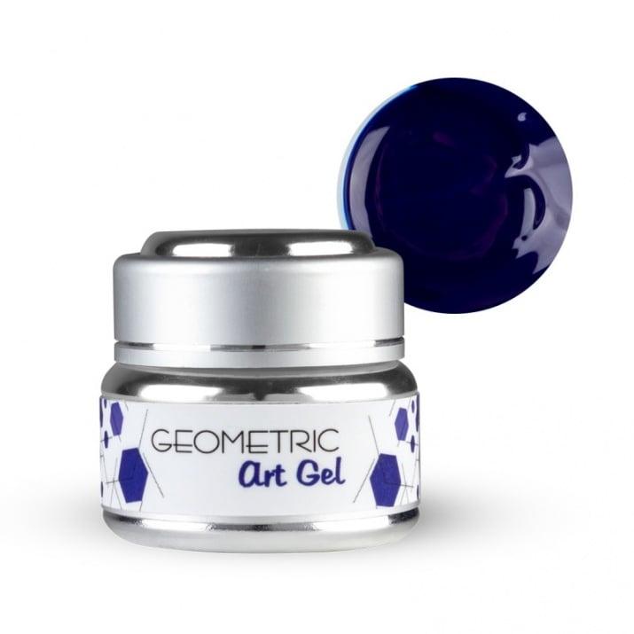 EF Geometric art gel  - Геометричен дизайн гел 5мл. Цвят: Син