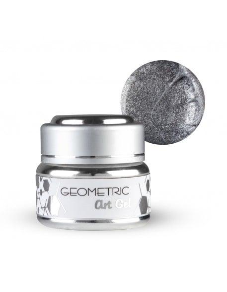 EF Geometric art gel  - Геометричен дизайн гел 5мл. Цвят: Сребро