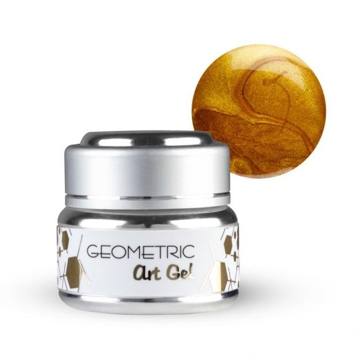 EF Geometric art gel  - Геометричен дизайн гел 5мл. Цвят: Злато