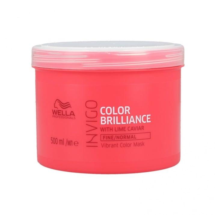 Brilliance - Mаска за боядисана фина към нормална коса - 150мл/500мл. Разфасовка: 500